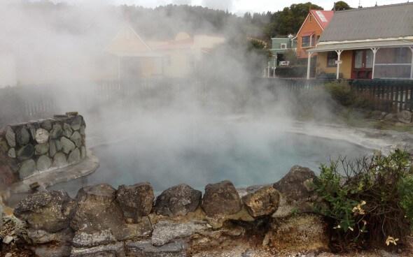 Rotorua: Heiße Quellen überall!
