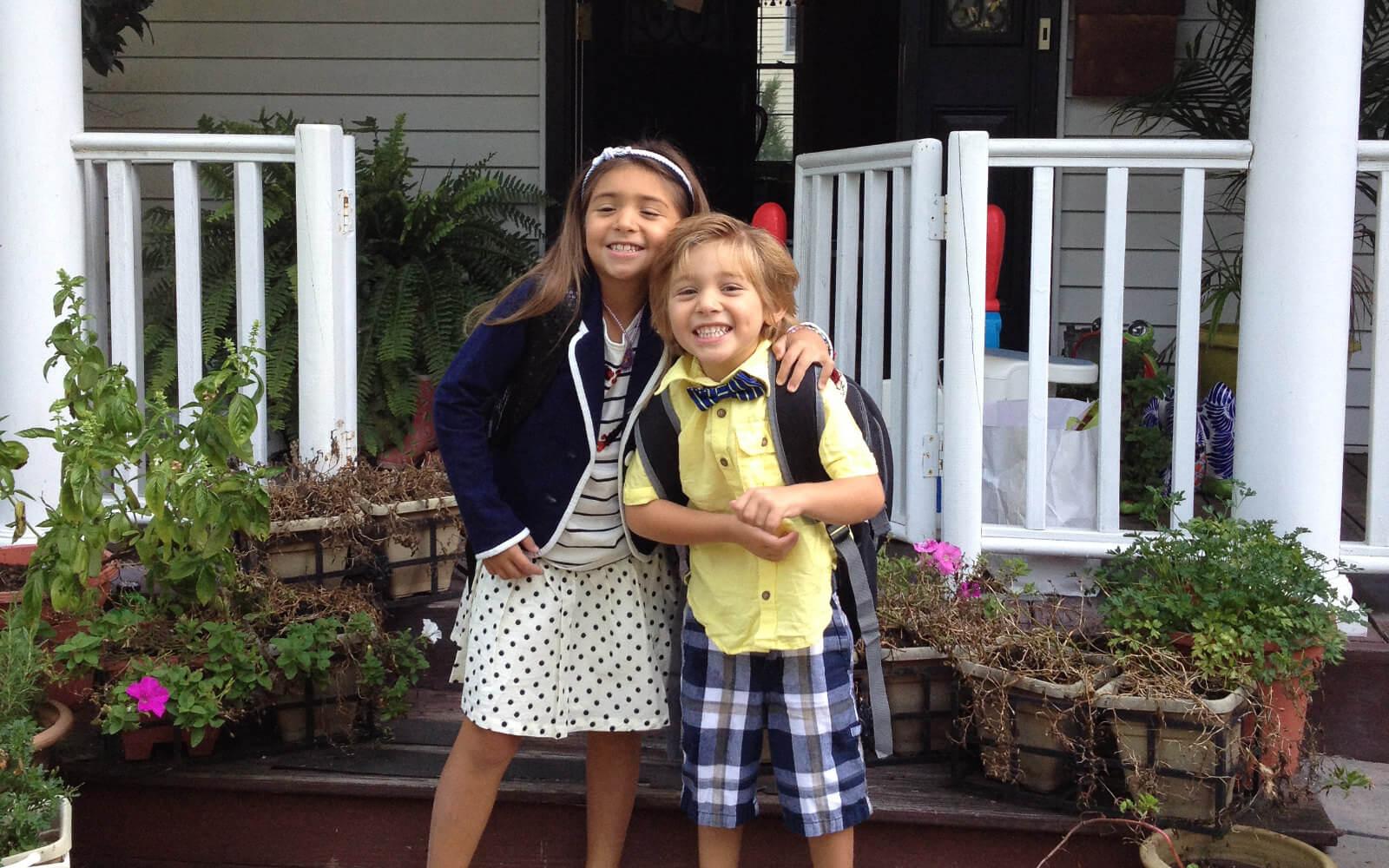 Au-pair USA: Erster Schultag für Sofia und Luca