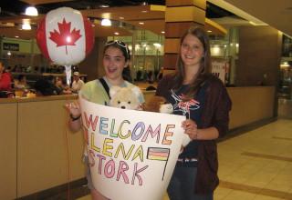 Lena in Kanada #1: Empfang in der neuen Heimat