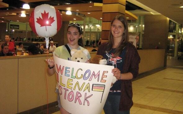 High School-Jahr Kanada: Lenas Ankunft bei ihrer Gastfamilie