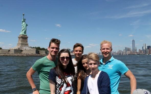 High School Jahr USA: Malte in New York