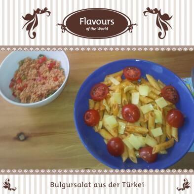 Rezepte aus aller Welt: Bulgursalat