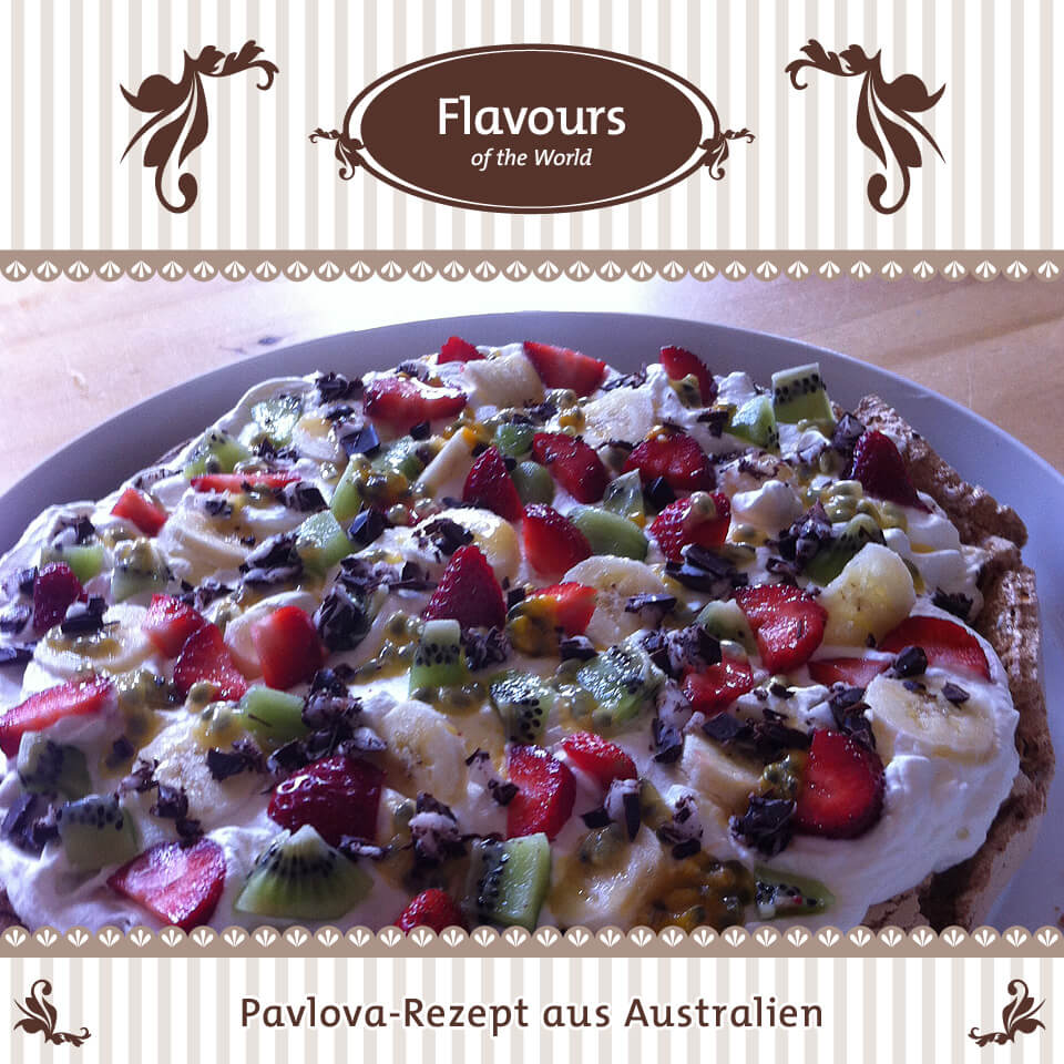 Rezepte aus aller Welt: Pavlova