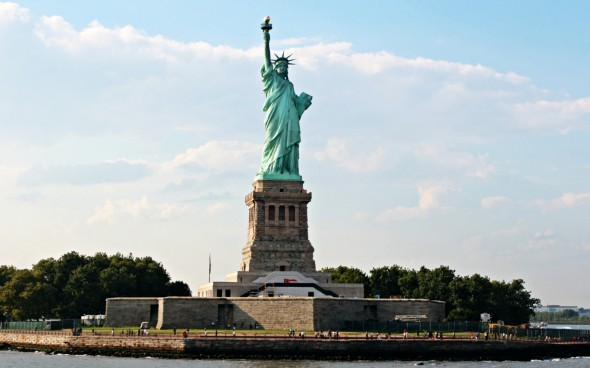Roadtrip durch die USA: die Freiheitsstatue in New York