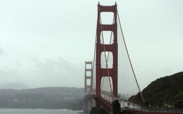 Roadtrip durch die USA: die Golden Gate Bridge in San Francisco