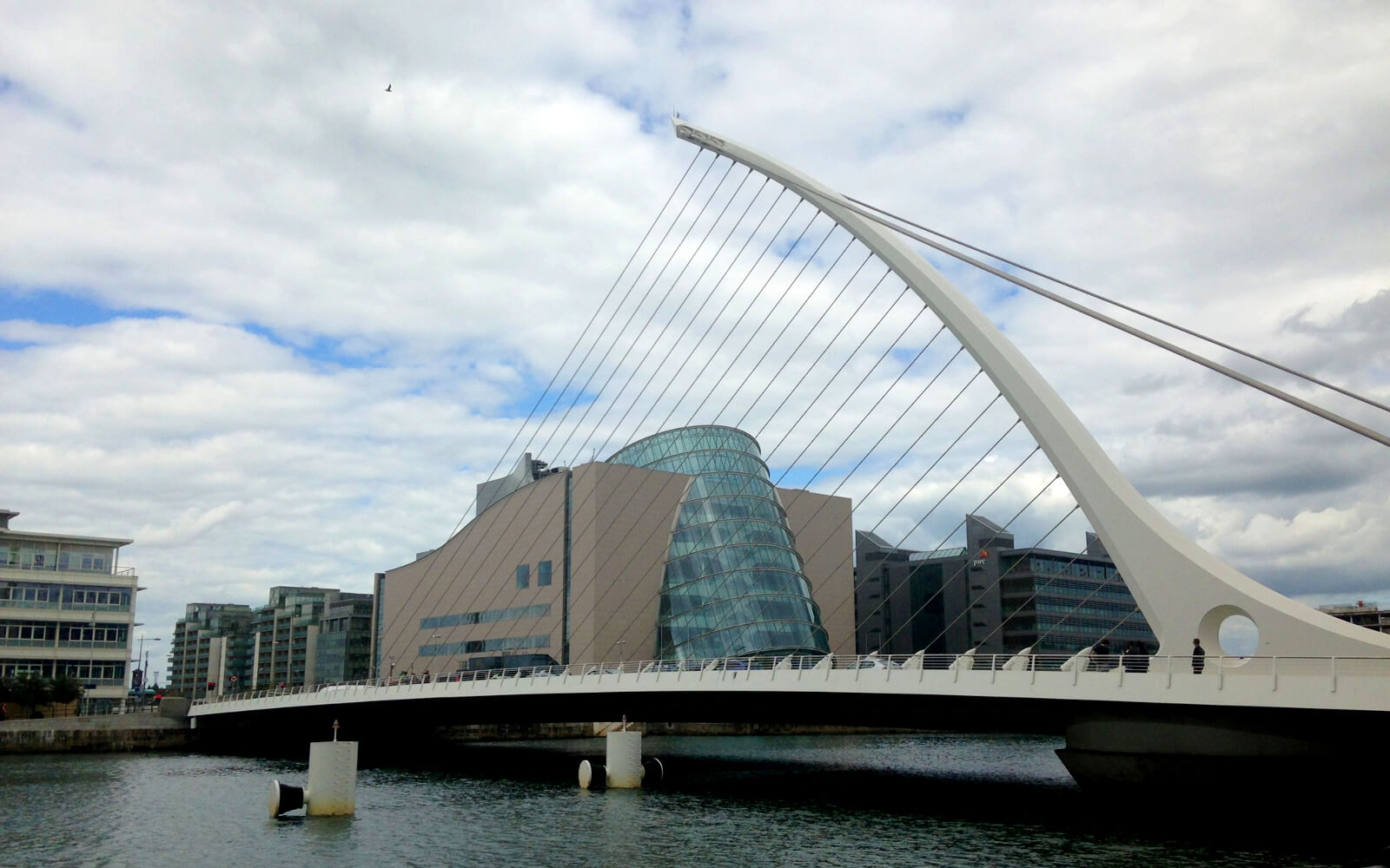 Samuel Beckett Bridge in Dublin