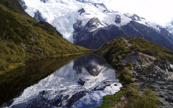 Skifahren in Neuseeland: Mt. Cook auf der Südinsel