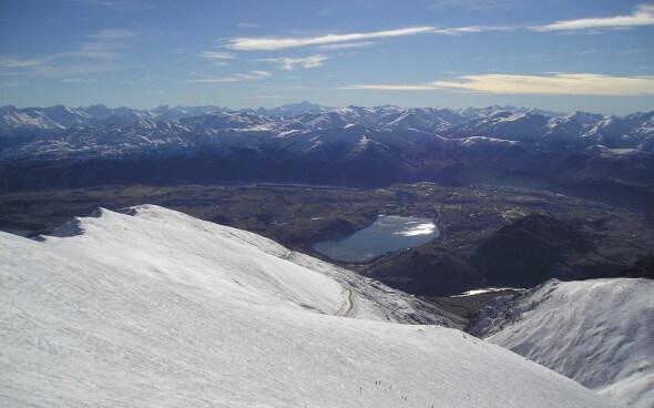 Skifahren in Neuseeland: Skipiste