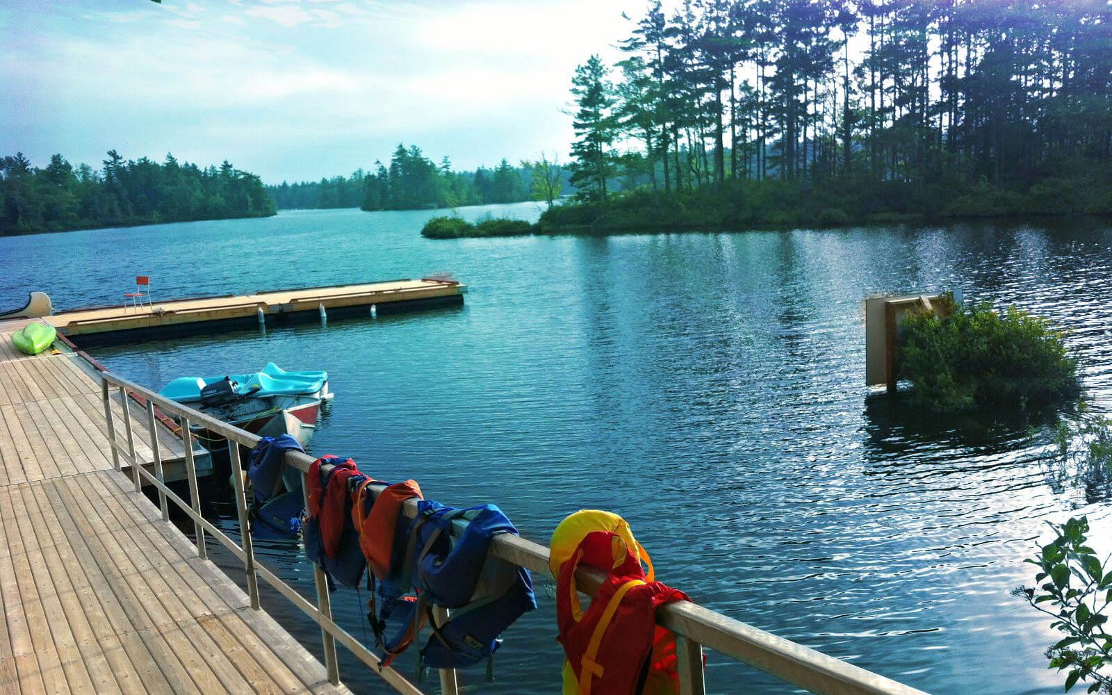 Wasseraction im Camp Brigadoon