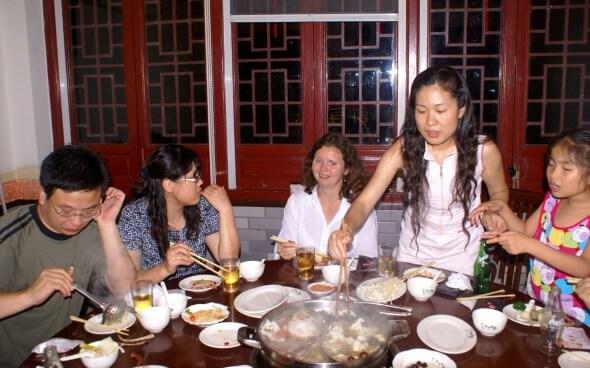 Chinesische Esskultur: Immer brav nicht aufessen!