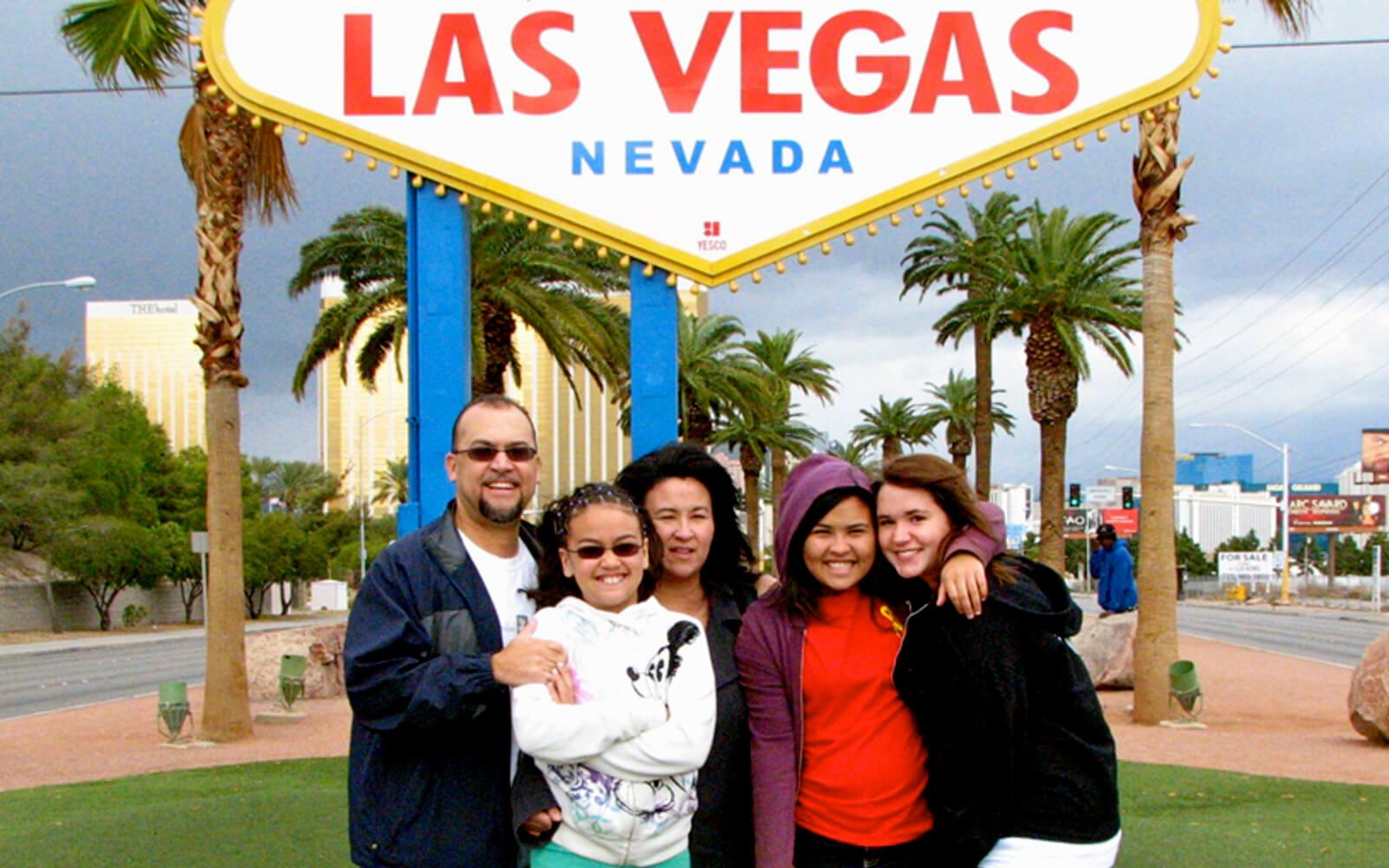 Ein Ausflug mit der Gastfamilie nach Las Vegas