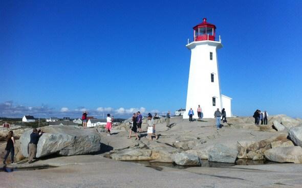 High School Jahr in Kanada: Leuchtturm an der Bay of Fundy