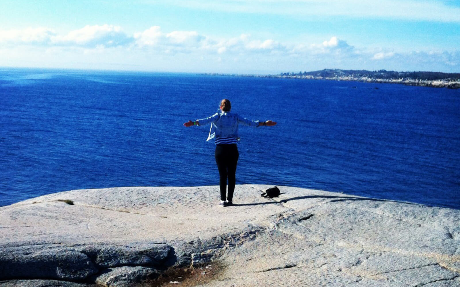 Lena am Meer