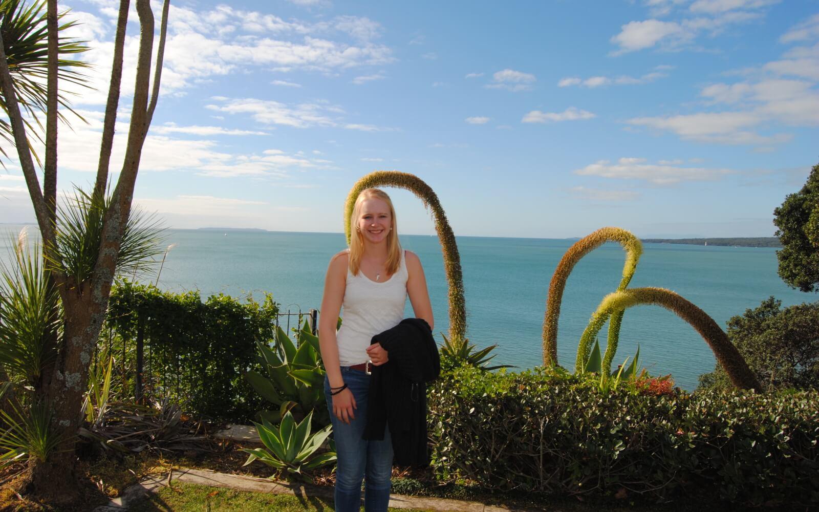 Demi-pair Auckland: Vor einem tollen Panorama