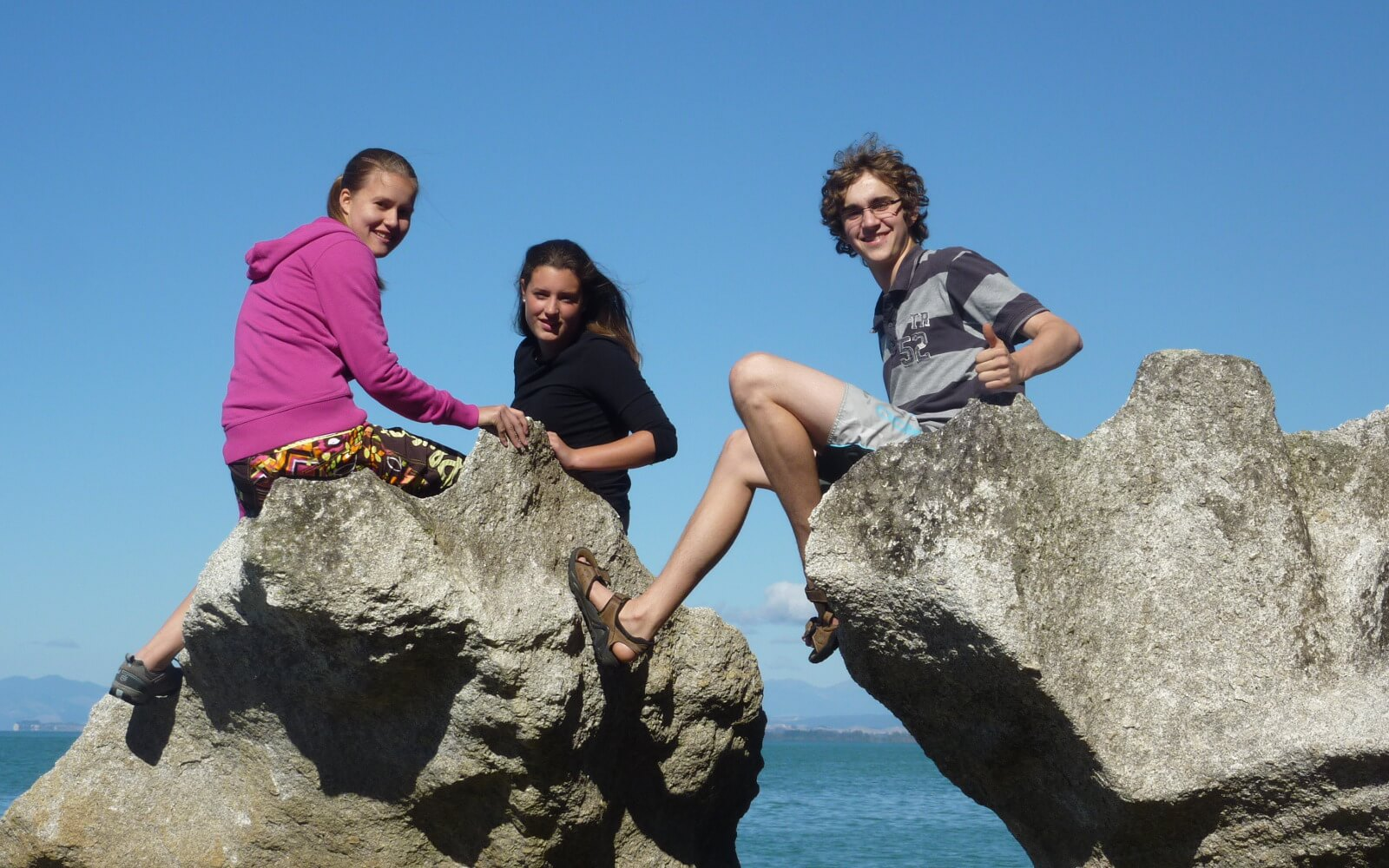 Reisen mit anderen Austauschschülern