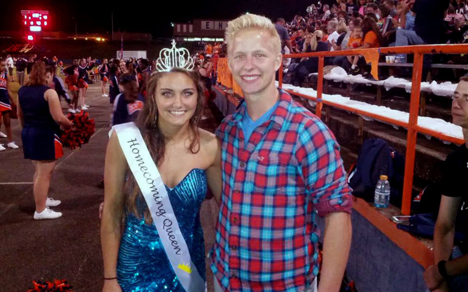 Malte mit der Homecoming Queen