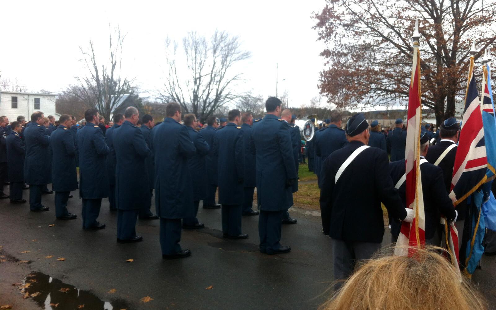 Parade der Veteranen