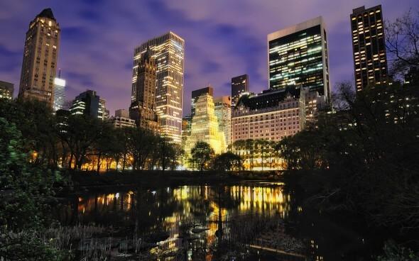 Silvester feiern in Übersee: New York bei Nacht