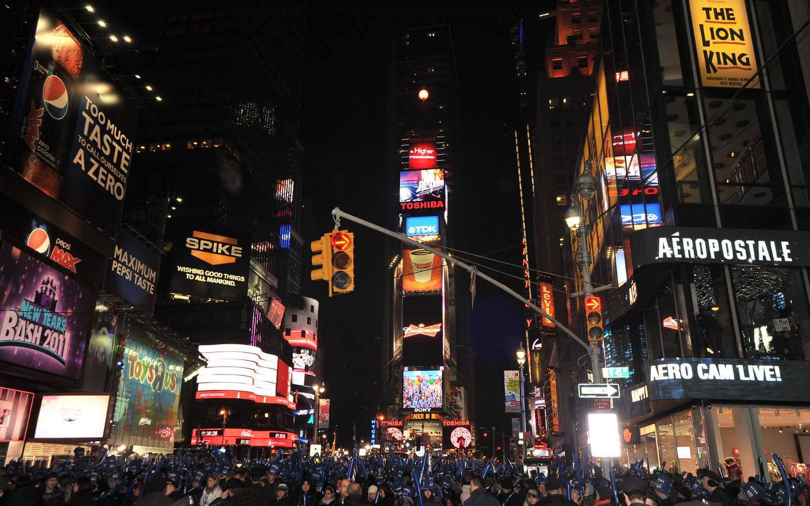 Silvester in Übersee_Silvester am Time Square von asterix611