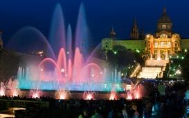 Barcelona: Fuente de Montjuic