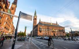 Kopenhagen: Rathausplatz