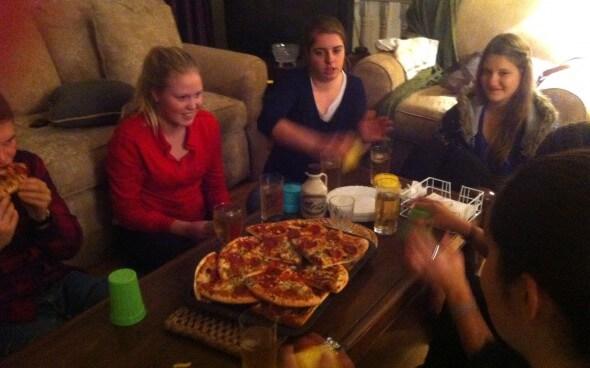 Farewell Dinner mit Lenas Freunden