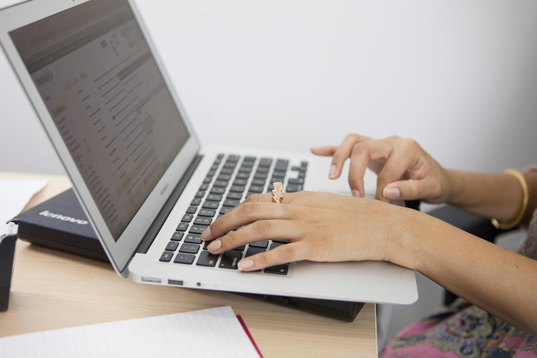 Reiseblog: der Laptop darf nicht fehlen