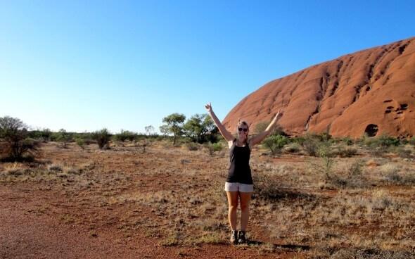 Anna entdeckt Australien: Im Red Center