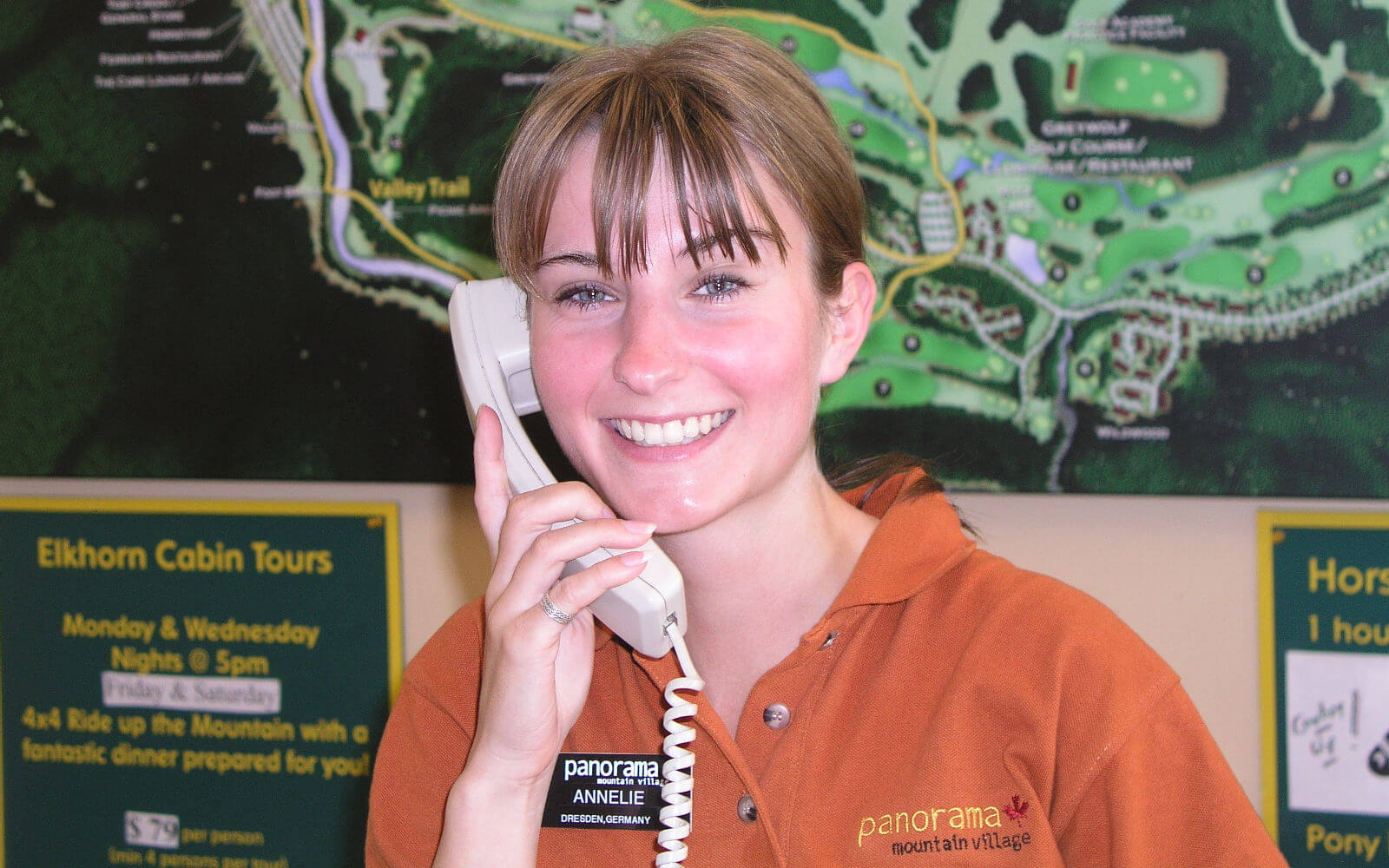 Job in der Tourismusbranche