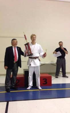 High School USA: Malte beim Judo