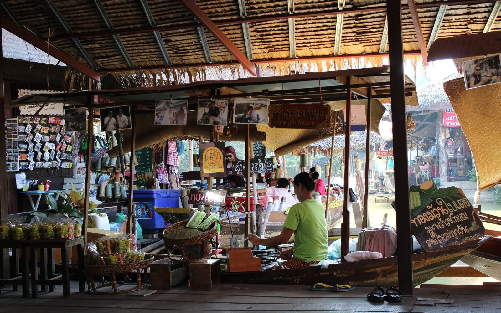 Ein kleiner thailändischer Laden