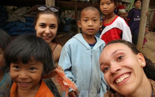Freiwilligenarbeit in Asien: Malina und die Kids