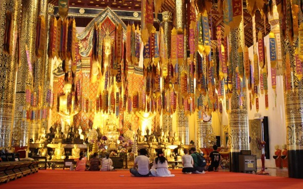 Freiwilligenarbeit in Asien: Tempel in Chiang Mai
