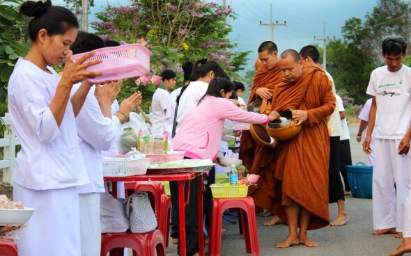Feeding the Monks