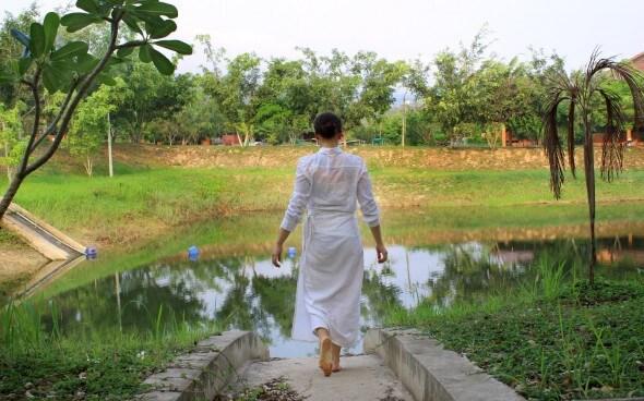 Freiwilligenarbeit in Asien: Ruhe tanken am See