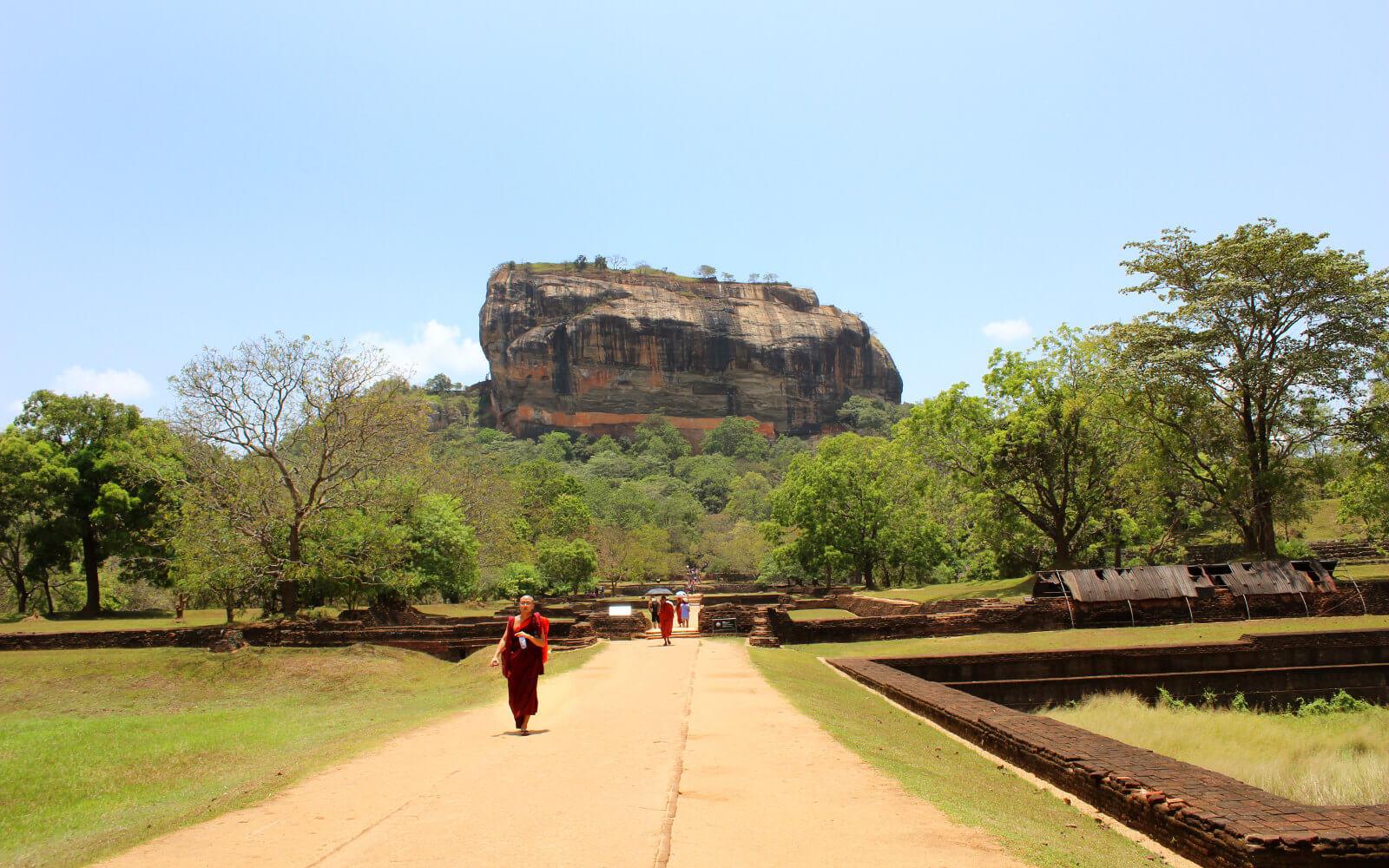 Sigirya aus der Ferne