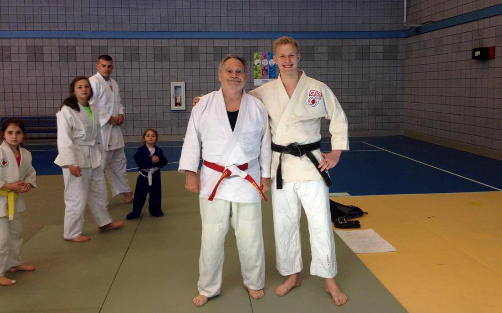 Malte im Judo-Camp