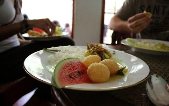 Freiwilligenarbeit in Asien: leckeres Essen