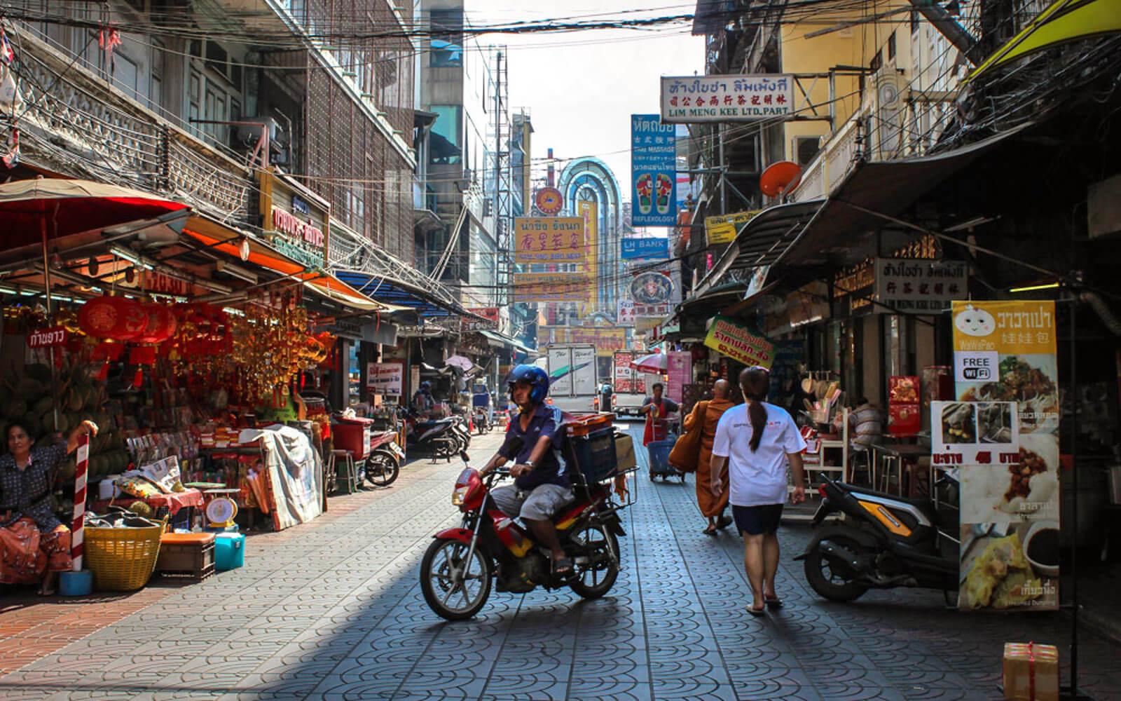 Straßenbild Thailand