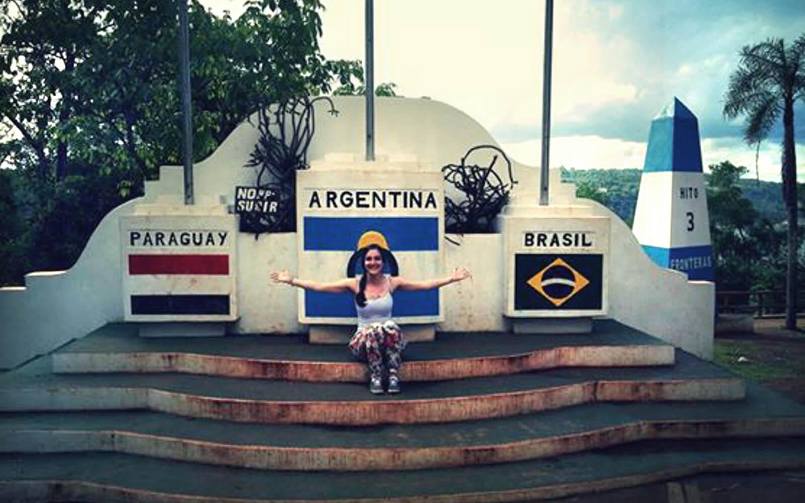 Ein südamerikanisches Dreiländereck