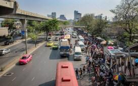 Thailands Strassen