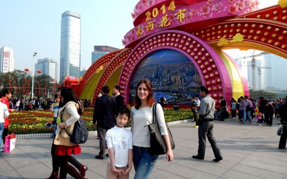 Au-pair China mit Kind