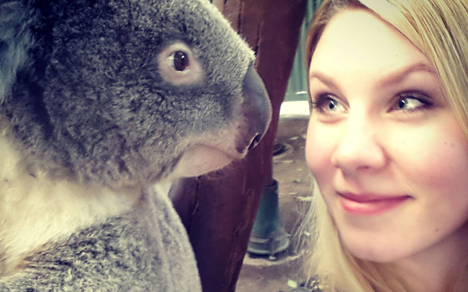 Helene mit Koala