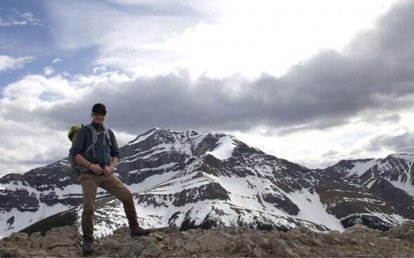Hotelarbeit in Kanada: Ljubisa bei Trekking