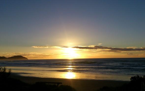 Praktikum Neuseeland - Sunrise Gisborne