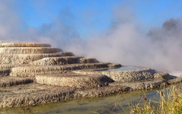 Praktikum Neuseeland - Wairakei-Terraces
