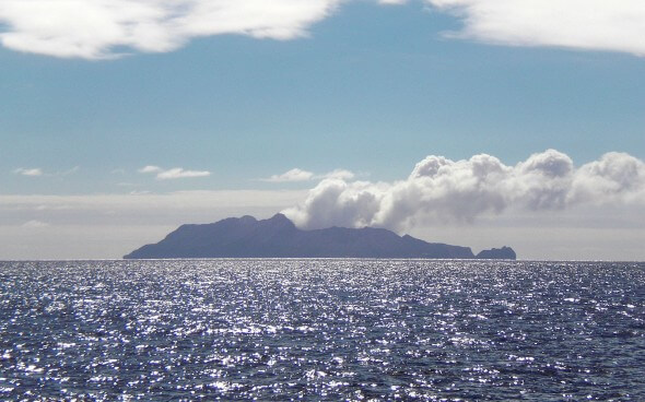 Praktikum Neuseeland - White Island Vulcano