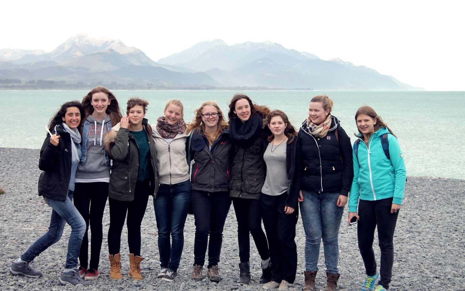 Farina und ihre Freundinnen: Ein Ausflug nach Kaikoura
