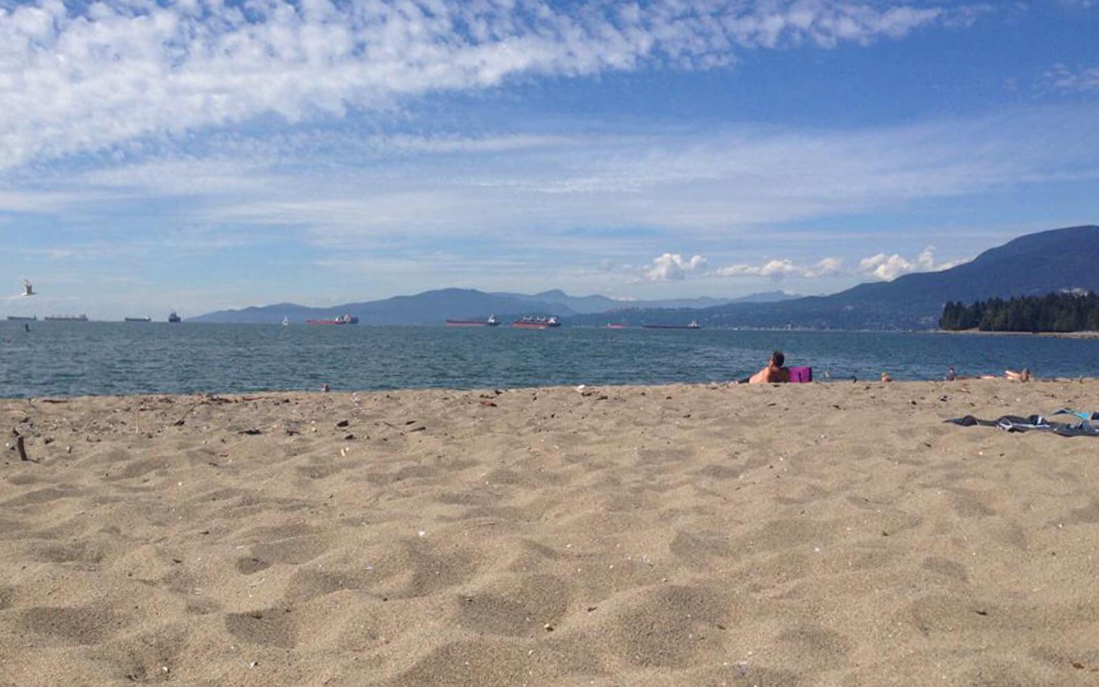 Strand in Kanada