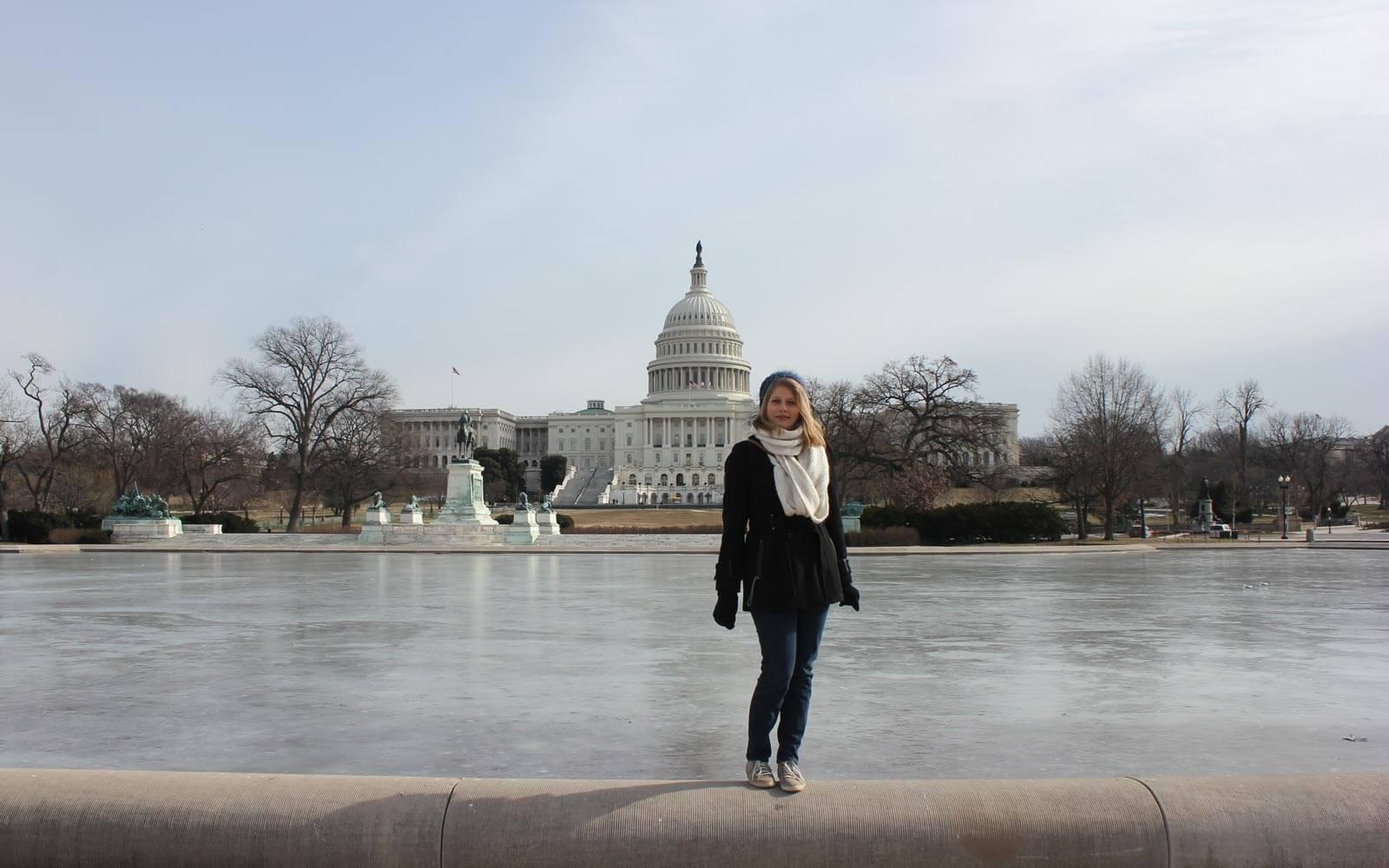 Anna-Lena in Amerika